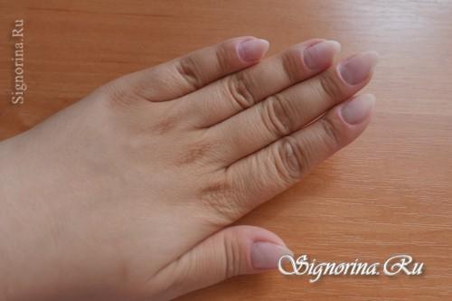 Пошаговая инструкция наращивания ногтей гелем французского маникюра
